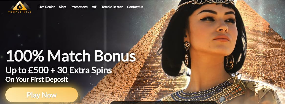temple nile welcome bonus