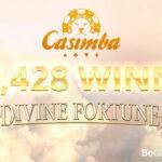 Divine Fortune Jackpot won at Casimba