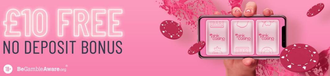 pink casino no deposit bonus