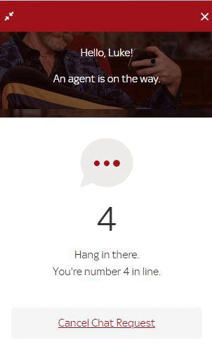 skyvegas customer support