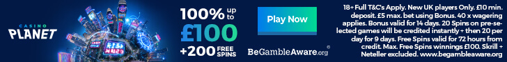 casino planet welcome bonus