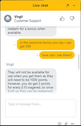 jackpot village chat support